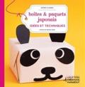 Sophie Glasser - Boîtes et paquets japonnais - idées et techniques.