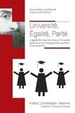 Sophie Grosbon - Université, égalité, parité - L'égalité femmes-hommes à l'université après la loi sur l'enseignement supérieur et la recherche.