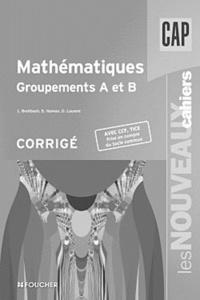 Deedr.fr Mathématiques CAP groupements A et B - Corrigé Image