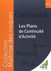 Sophie Huberson et Benoît Vraie - Les plans de continuité d'activité.