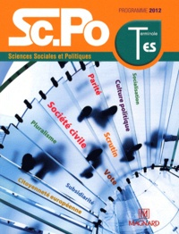 Sophie Jehel et Sandra Beltrame - Sciences Sociales et Poliques Term ES - Programme 2012.