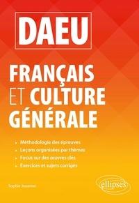 Sophie Jouanno - DAEU Français et Culture générale.