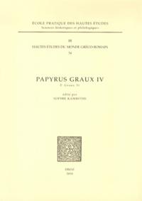 Sophie Kambitsis - Papyrus Graux IV - P. Graux 31.