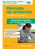 Sophie Kevassay - Mémoire de recherche en travail social - Préparation complète pour réussir sa formation.