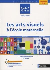 Les arts visuels à l'école maternelle Cycle 1 PS-MS-GS- Agir, regarder, comprendre - Sophie Laclotte |