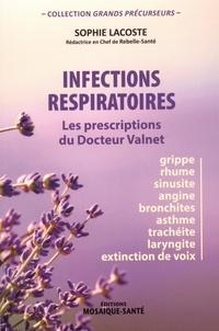Sophie Lacoste - Infections respiratoires - Les prescriptions du Docteur Valnet.