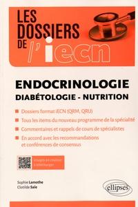 Sophie Lamothe et Clotilde Saïe - Endocrinologie, diabétologie, nutrition.