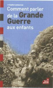 Feriasdhiver.fr Comment parler de la Grande Guerre aux enfants Image