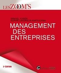 Sophie Landrieux-Kartochian et Samuel Josien - Management des entreprises.