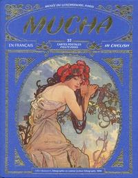 Sophie Laporte - Mucha - 32 cartes postales.