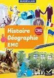 Sophie Le Callennec et Médéric Briand - Histoire-Géographie-EMC CM2 Cycle 3 Magellan - Manuel.