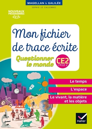 Page De Garde Questionner Le Monde Ce2
