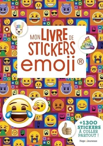 Mon Livre De Stickers Emoji Avec Plus De 1300 Stickers A Coller Partout Grand Format