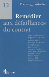 Sophie Le Gac-Pech - Remédier aux défaillances du contrat.