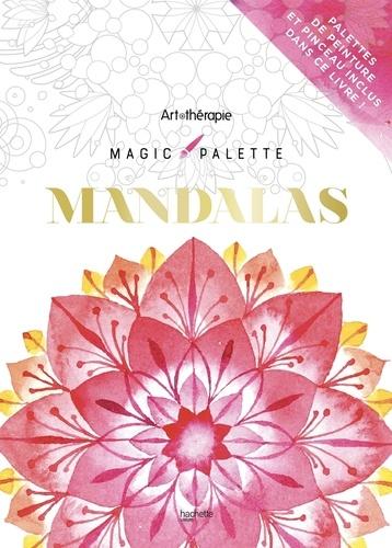 Magic palette mandalas. Avec un pinceau