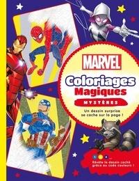 Sophie Leblanc - Marvel - Coloriages magiques mystères.
