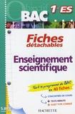 Sophie Lebrun et Patrice Delguel - Enseignement scientifique 1e ES.