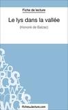 Sophie Lecomte et  Fichesdelecture.com - Le lys dans la vallée - Analyse complète de l'oeuvre.
