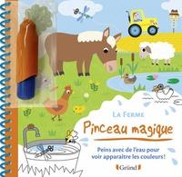 Sophie Ledesma - La ferme - Peins avec de l'eau pour voir apparaitre les couleurs ! Avec un pinceau.