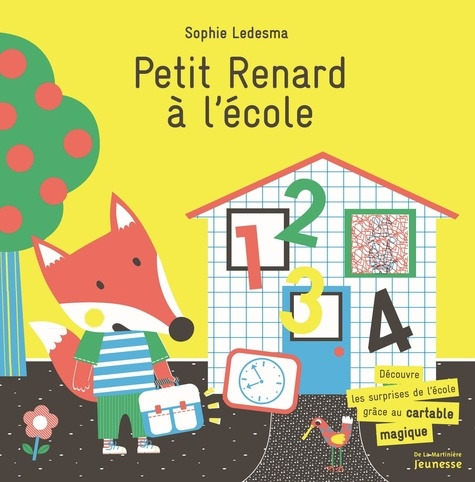 Sophie Ledesma - Petit Renard à l'école.