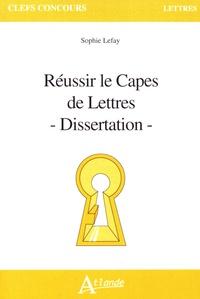 Accentsonline.fr Réussir le Capes de Lettres - Dissertation Image