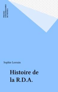 Sophie Lorrain - Histoire de la RDA.