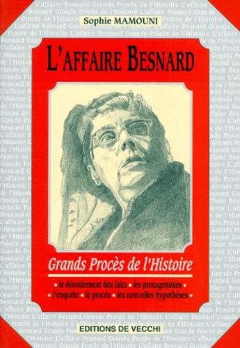 Sophie Mamouni - L'affaire Besnard.