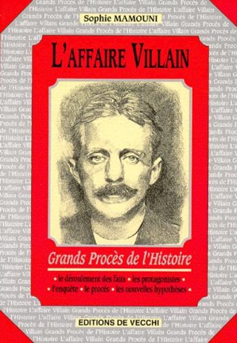 Sophie Mamouni - L'affaire Villain.