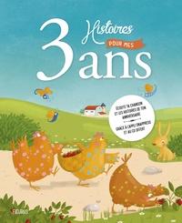 Sophie Maraval-Hutin et Quentin Gréban - 3 histoires pour mes 3 ans. 1 CD audio