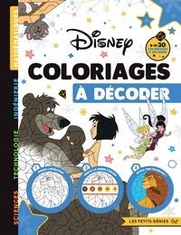 Sophie Marie - Disney - Coloriages à décoder.