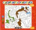 Sophie Marie - Les dinosaures - Coloriages magiques.