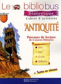 Sophie Marvaud et Pascal Dupont - Le Bibliobus n° 21 CE2 - L'Antiquité, Cahier d'activités.