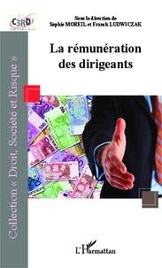 Sophie Moreil et Franck Ludwiczak - La rémunération des dirigeants - Actes du colloque recherche C3RD, 25 février 2010.