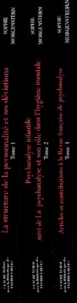 Galabria.be Oeuvres complètes 3 volumes : Tome 1, La structure de la personnalité et ses déviations. Tome 2, Psychanalyse infantile suivi de La psychanalyse et son rôle dans l'hygiène mentale. Tome 3, Articles et contributions à la Revue française de psychanalyse Image