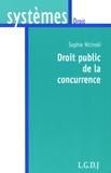 Sophie Nicinski - Droit public de la concurrence.
