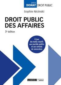 Deedr.fr Droit public des affaires Image