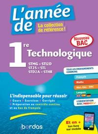 Sophie Pailloux-Riggi et Jacqueline Turgis - L'année de 1re STMG, STI2D, ST2S, STL, STD2A, STHR.