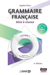 Grammaire, Mise à niveau. Tome 1 - Supérieur et formation continue.pdf