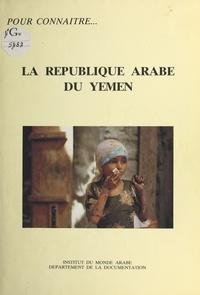 Sophie Pommier - La République arabe du Yémen.