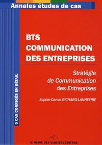 Sophie Richard-Lanneyrie - BTS Communication d'entreprise.
