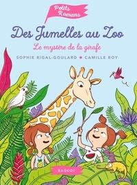 Sophie Rigal-Goulard - Des jumelles au zoo - Le mystère de la girafe.