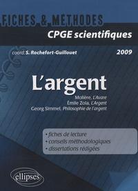 Sophie Rochefort-Guillouet - L'argent - Georg Simmel, Philosophie de l'argent ; Molière, L'Avare, Emile Zola, L'Argent.