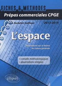 Sophie Rochefort-Guillouet - L'espace - Dissertations sur le thème de culture générale 2013-2014.