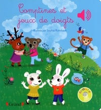 Sophie Rohrbach - Comptines et jeux de doigts.