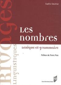 Sophie Saulnier - Nombres - Lexique et grammaire.