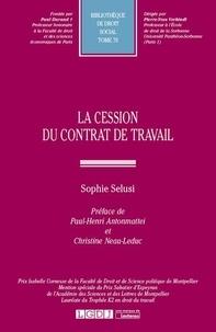 Sophie Selusi - La cession du contrat de travail.