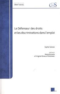 Sophie Sereno - Le Défenseur des droits et les discriminations dans l'emploi.