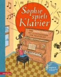 Sophie spielt Klavier.