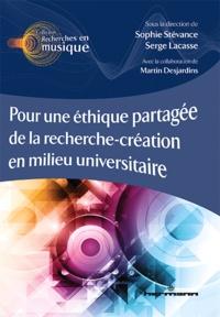 Sophie Stévance - Pour une éthique partagée de la recherche-création en milieu universitaire.