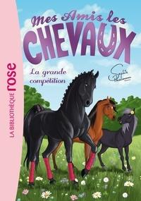 Sophie Thalmann et Natacha Godeau - Mes amis les chevaux Tome 2 : La grande compétition.